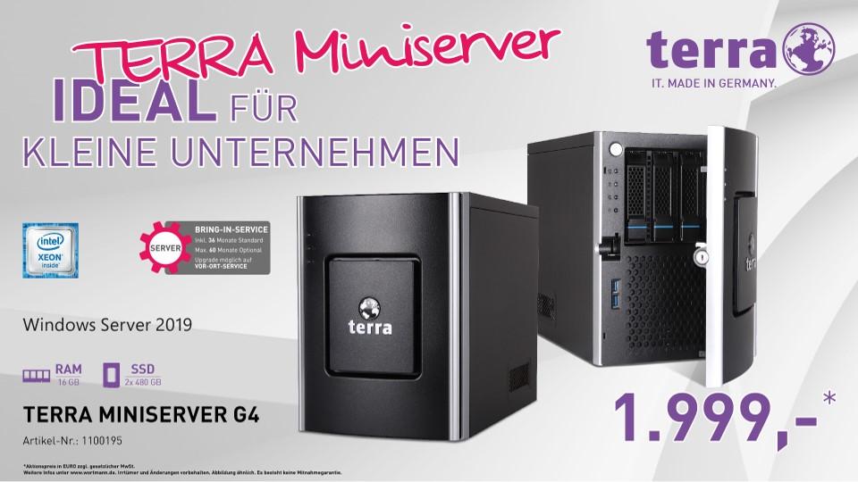 TERRA MINISERVER G4 #1100195