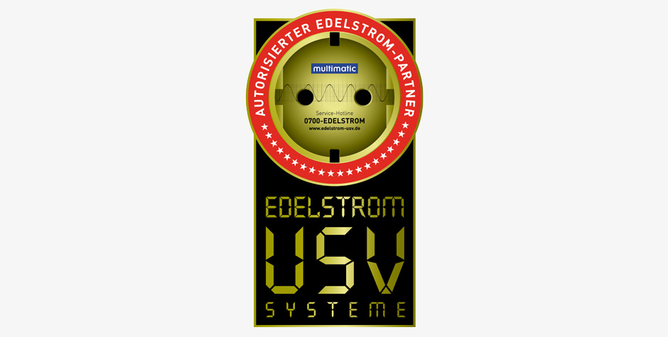 EDELSTROM - USV Logo